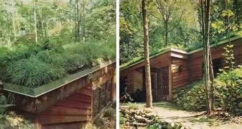 Earth Sheltered Cabin by An Earth Sheltered House In Michigan Green Homes
