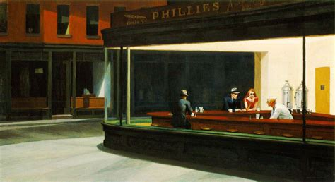 Pastel Bar Stools by Edward Hopper Wikipedia