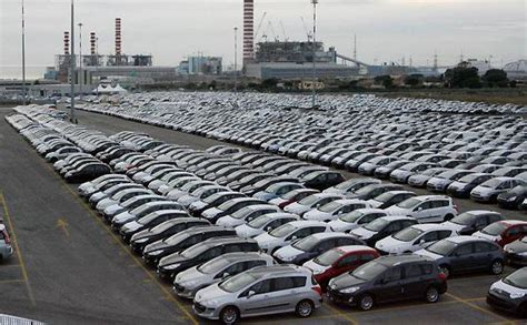 Sheerness Car Port by Unsold Cars Around The World The Big Picture