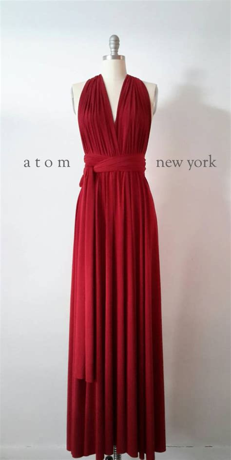 Floor Length Wrap Dress by Ruby Floor Length Gown Infinity Dress