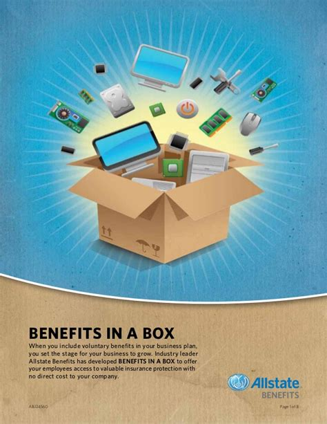 Mba In A Box by Benefits In A Box Allstate Benefits
