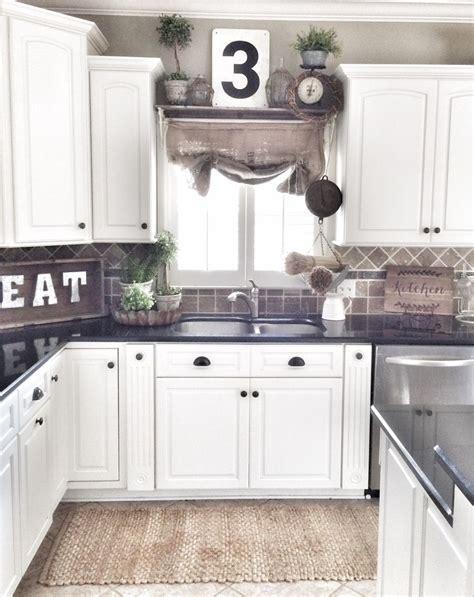 farmhouse cabinets for kitchen best 20 dark granite kitchen ideas on pinterest black