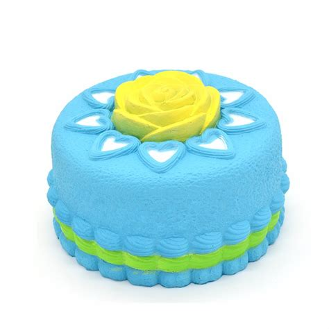 Kiibru Pink Slice Cake Squishy kiibru squishy jumbo cake rising original packaging collection gift decor alex nld
