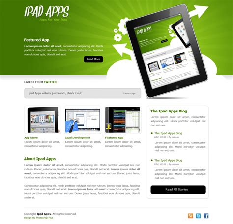 ipad page layout design app learn how to create an ipad apps themed layout tutorials