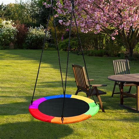 detachable swing sets  kids playground platform saucer