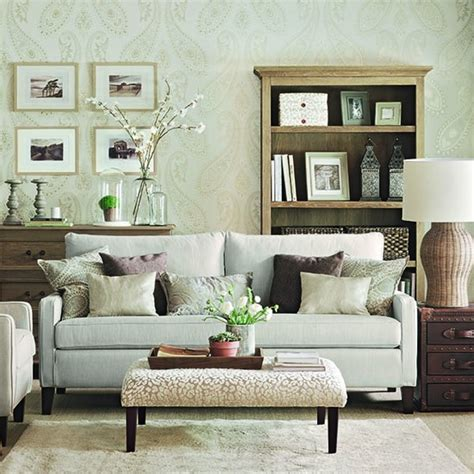 soft green living room delicately patterned soft green living room how to decorate with neutrals housetohome co uk