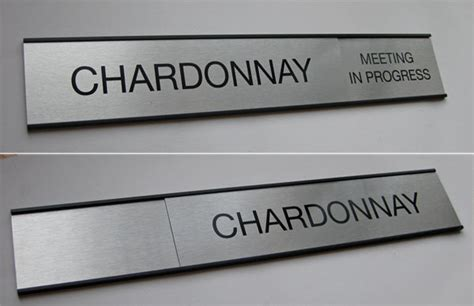 Office Signage by Sliding Message Office Sign In Out Door Signs