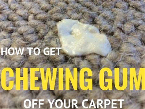 how to get gum off of a couch how to get chewing gum off carpet smart vac guide