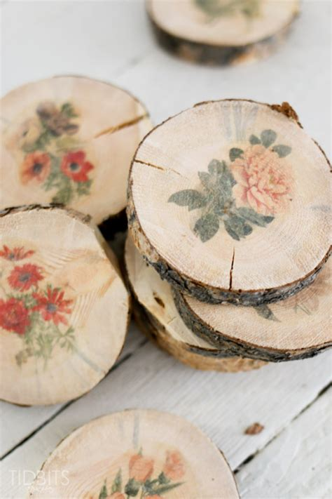 transfer paper for wood crafts 7 cool diy coasters ideas l essenziale