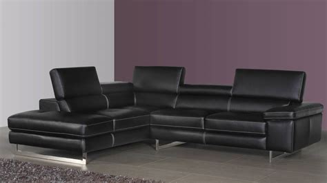 Black Leather Corner Sofa Leather Corner Sofa For London Modern Corner Sofas Uk