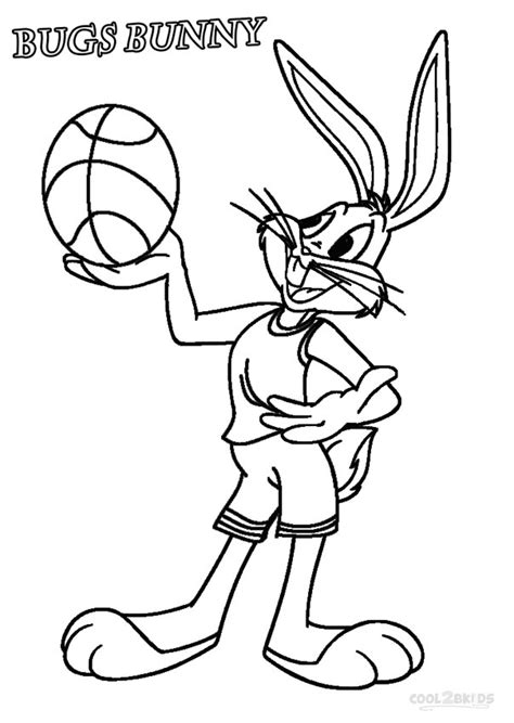 coloring pages bugs bunny printable bugs bunny coloring pages for kids cool2bkids