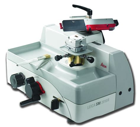 Bench Brake Leica Sm2010 R Sliding Microtome Product Leica Biosystems