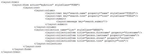 struts layout tutoriel struts n 176 9 am 233 liorer l interface avec struts