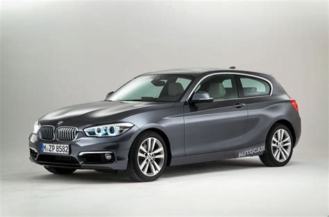 one series bmw facelifted bmw 1 series exclusive studio pictures autocar