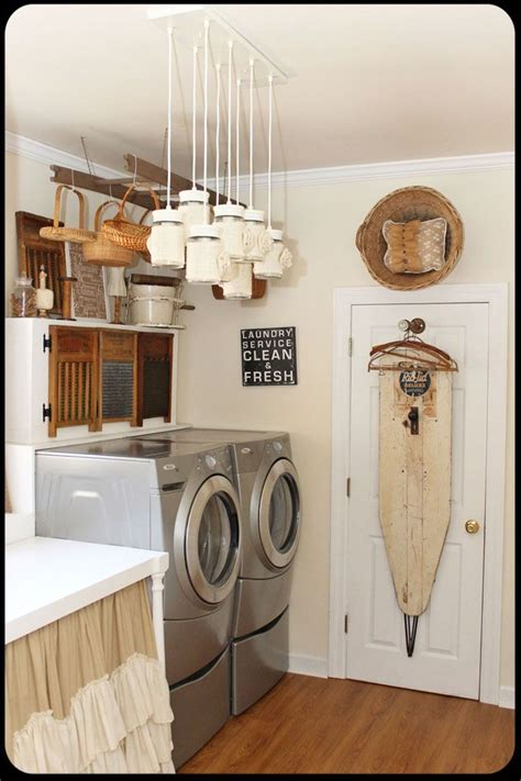 Laundry Room Decor Casual Cottage Decorate Laundry Room