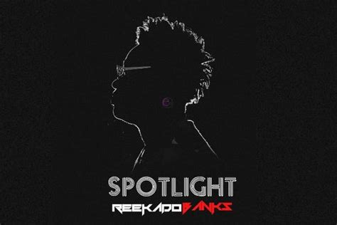 Spotlight Cover by Reekado Banks Spotlight In Africa