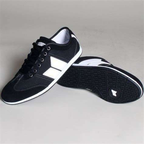 Harga Macbeth Brighton Black White brighton mens shoes in black white by macbeth