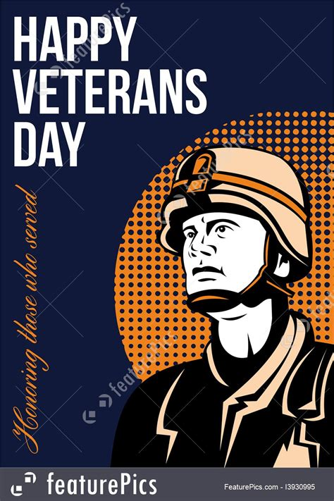 happy veterans day to army soldier free greeting card template holidays happy veterans day serviceman greeting card