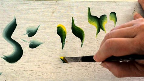 decoration painting basic strokes in decorative painting youtube