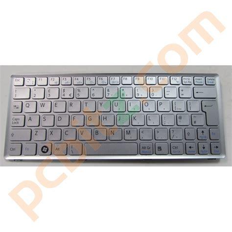Keyboard Laptop Sony Vaio Vpc Y Vpc Y118 Series Black Silver Frame sony vaio aesy2800010 uk keyboard silver ebay