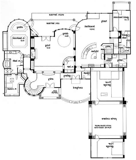 floor plans with porte cochere porte cochere house plans with interior photos