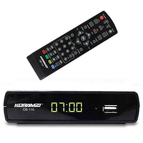 Shinpo Cont Box 110 Cb 30 other electronics koramzi cb 110 digital tv converter hd usb time shift function dolby