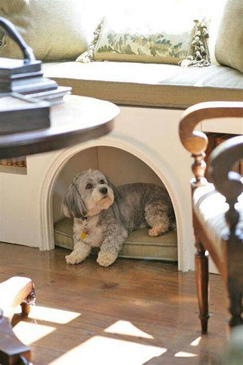 built in dog house 25 cool indoor dog houses home design and interior