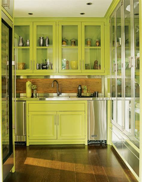 Green Kitchen Cabinets by Yellow Kitchen Wall Color Serene Green Design Bookmark