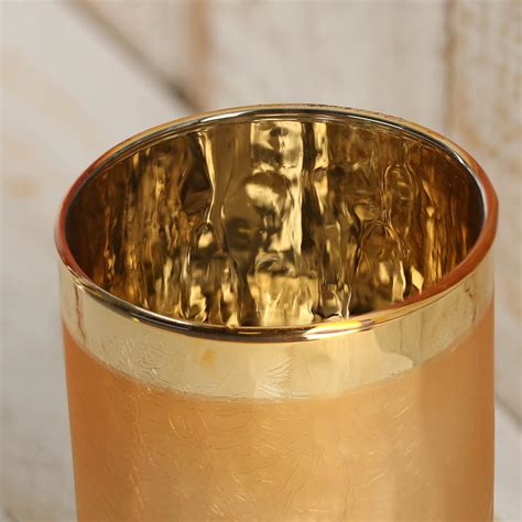 Gold Glass Candle Holders Gold Glass Candle Holder Candles And Accessories Home