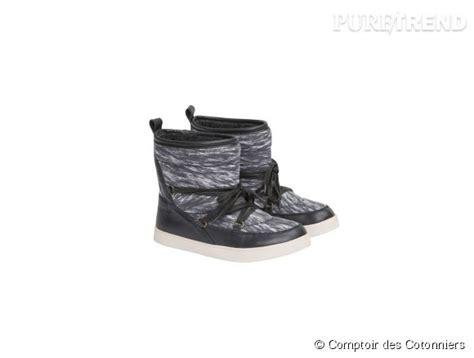 chaussure comptoir des cotonniers chaussures ski chaudes