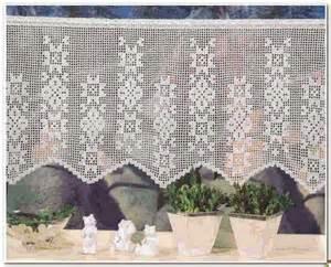 crochet curtain filet crochet