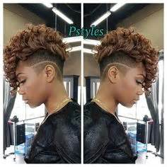 haircuts downtown atlanta sew in mohawk sides cut short hairstyles pinterest
