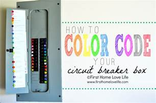 circuit colors color coding your circuit breaker box home