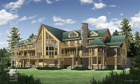 big houses plans big sky log home plan floor plans 171 gallery of homes