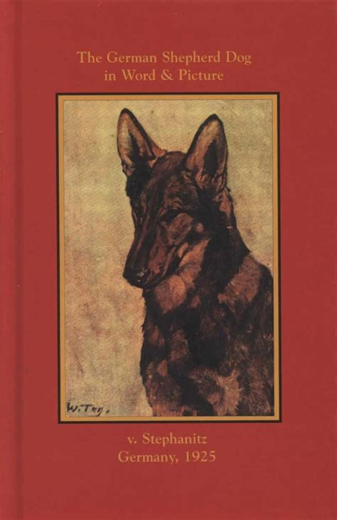 german words for dogs the german shepherd in word and picture