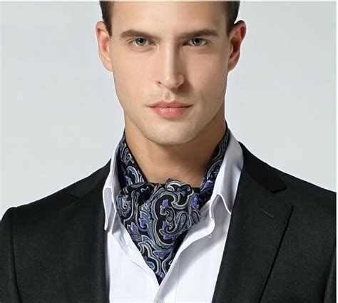 winter and autumn faced silk cravat suit shirt
