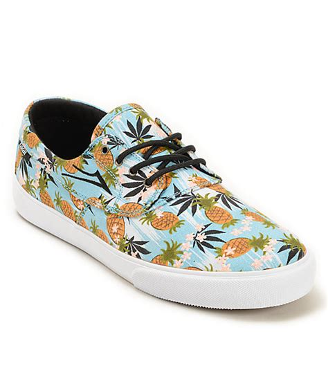 pineapple shoes lakai x ftc camby pineapple express skate shoes