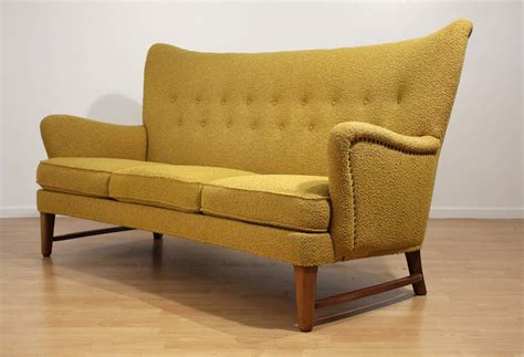 Sofa Wing Chair early scandinavian wingback sofa at 1stdibs