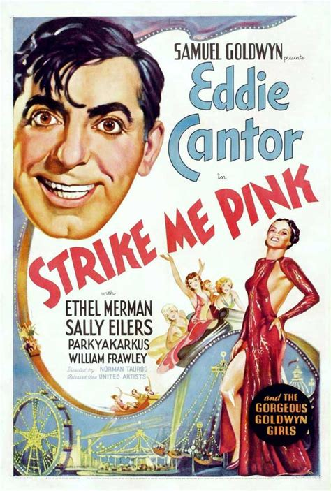 pink poster strike me pink movie posters from movie poster shop