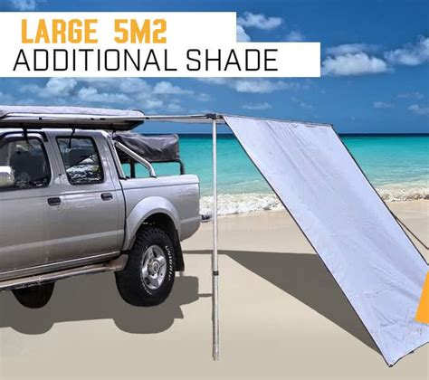 Rv Awning Extension by New 2 5m X 3m Awning Roof Top Tent Extension Cer