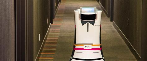 automated room robot butlers automated room service at aloft hotels can