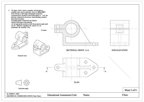 Engineering Drawing 171 Graphical Communication Engineering Drawing Ppt