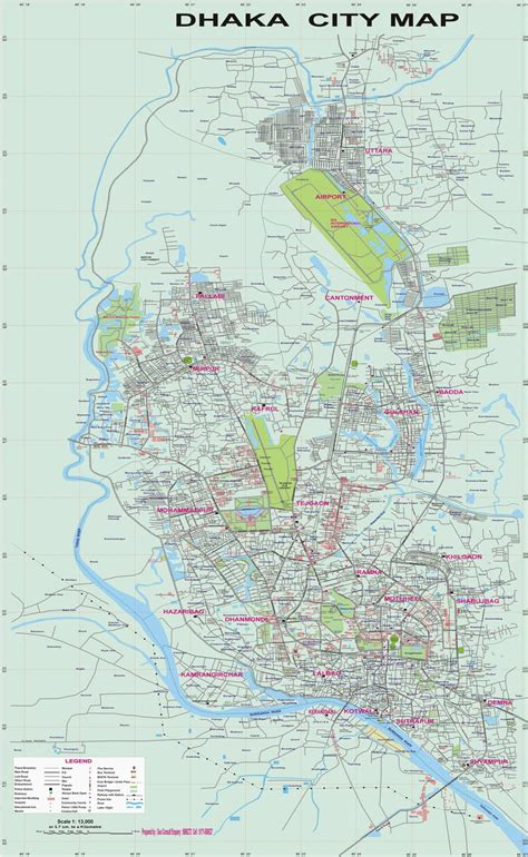 map of dhaka city dhaka maps of dhaka city and bangladesh transport system