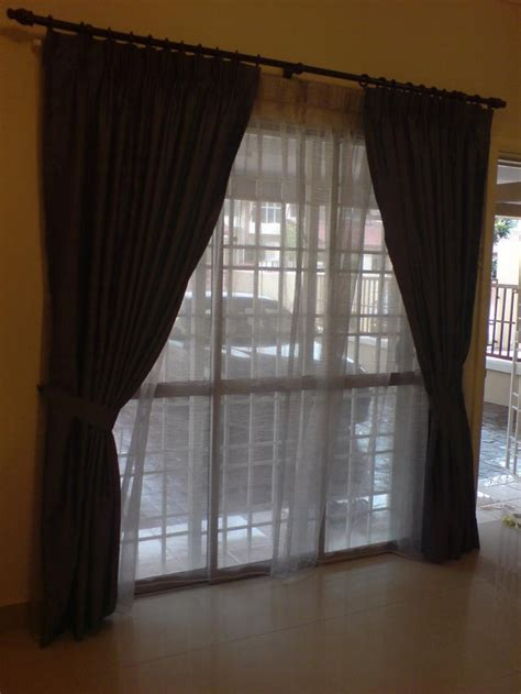 sliding door drapery sliding door curtain ideas pictures for the home pinterest