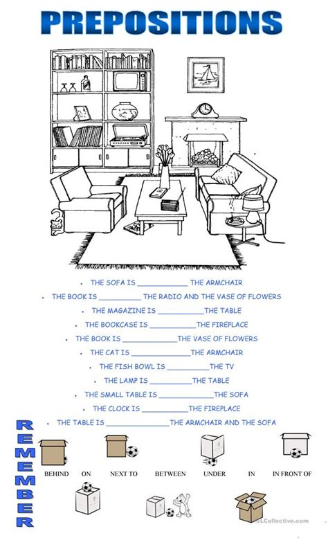 esl le prepositions worksheet free esl printable worksheets