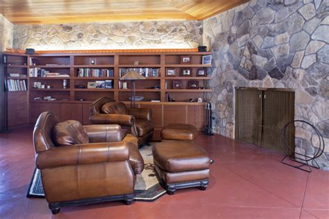 Mahopac Upholstery by Modern Lake House Living Room Interior Design Ideas