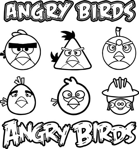 coloring page vector angry birds vector graphics coloring page wecoloringpage