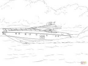 Speed Boat Coloring Page Free Printable Coloring Pages Speed Boat Coloring Pages