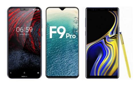 nokia 6 1 plus x6 oppo f9 pro samsung galaxy note 9 mobile phones launching this august in