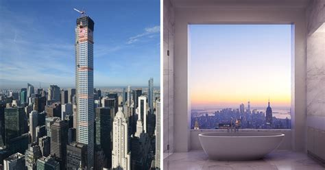 Penthouse Design by Breathtaking 95 Million Penthouse Rises 1 369 Ft Above
